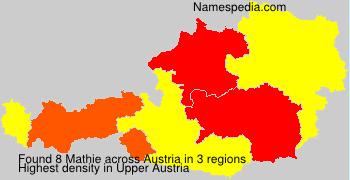 Surname Mathie in Austria