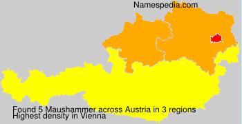 Surname Maushammer in Austria