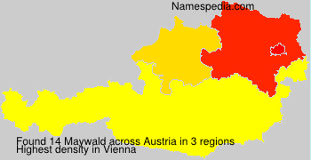 Surname Maywald in Austria