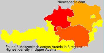 Surname Meitzenitsch in Austria