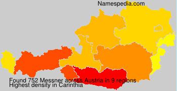 Familiennamen Messner - Austria