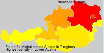 Surname Michal in Austria