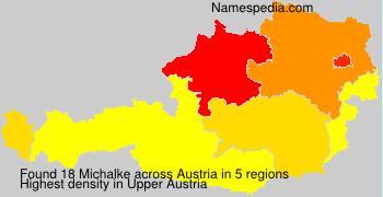 Familiennamen Michalke - Austria