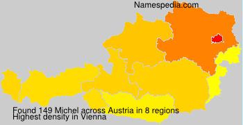 Surname Michel in Austria
