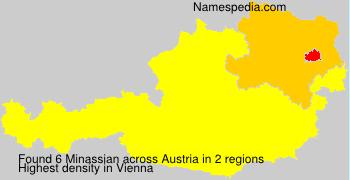 Surname Minassian in Austria