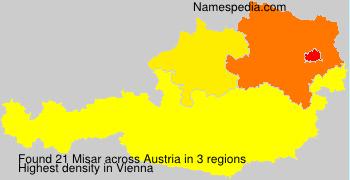Surname Misar in Austria