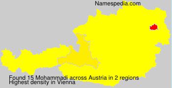 Surname Mohammadi in Austria
