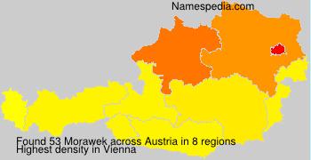 Surname Morawek in Austria