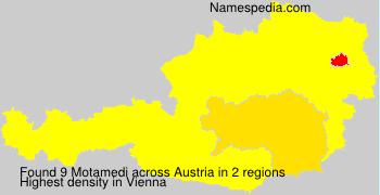 Surname Motamedi in Austria