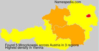 Surname Mroczkowski in Austria