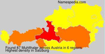 Familiennamen Muhlthaler - Austria