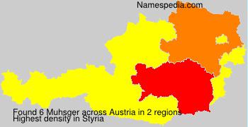 Surname Muhsger in Austria