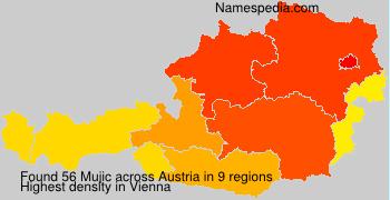 Familiennamen Mujic - Austria