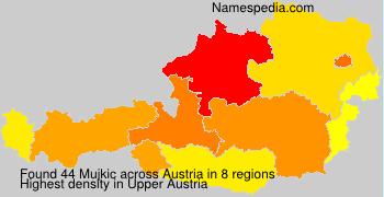 Surname Mujkic in Austria