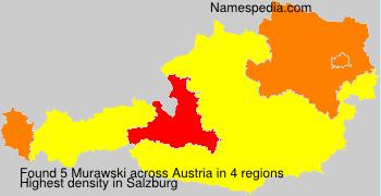 Surname Murawski in Austria
