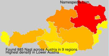 Surname Nagl in Austria