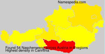 Surname Naschenweng in Austria