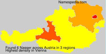Familiennamen Nasser - Austria