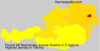 Surname Nechansky in Austria