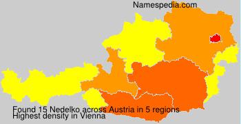 Familiennamen Nedelko - Austria