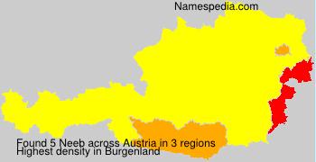 Familiennamen Neeb - Austria