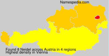 Surname Neidel in Austria