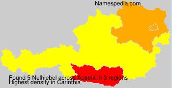Surname Nelhiebel in Austria