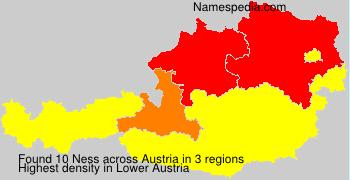 Surname Ness in Austria