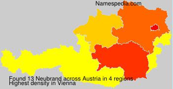 Surname Neubrand in Austria