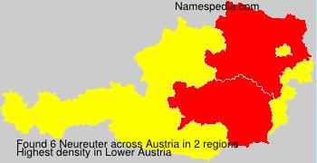 Familiennamen Neureuter - Austria