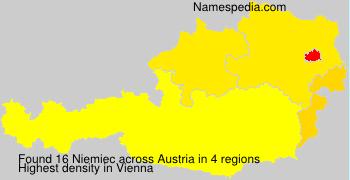 Familiennamen Niemiec - Austria
