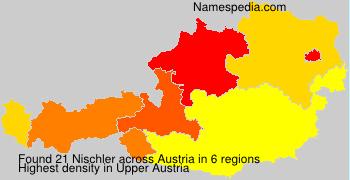 Surname Nischler in Austria