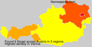 Surname Nogel in Austria