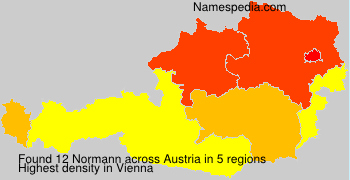 Surname Normann in Austria