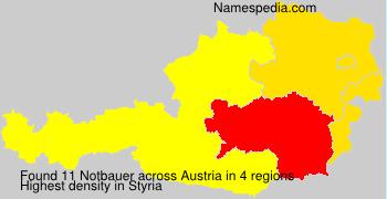Surname Notbauer in Austria