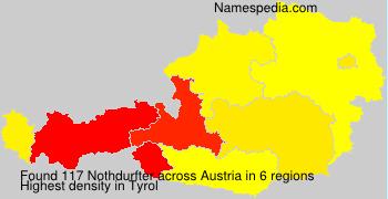 Surname Nothdurfter in Austria