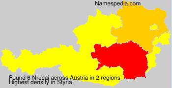 Surname Nrecaj in Austria