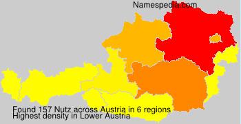 Surname Nutz in Austria