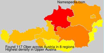 Familiennamen Ober - Austria