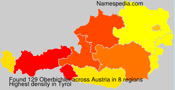 Surname Oberbichler in Austria