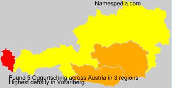 Surname Oggertschnig in Austria