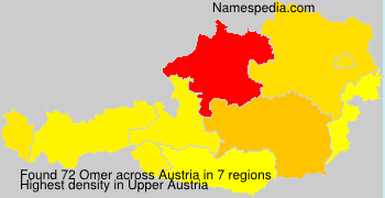 Surname Omer in Austria
