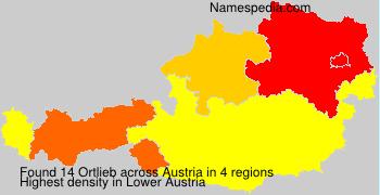 Familiennamen Ortlieb - Austria