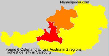 Familiennamen Osterland - Austria