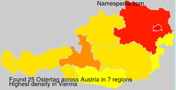 Surname Ostertag in Austria