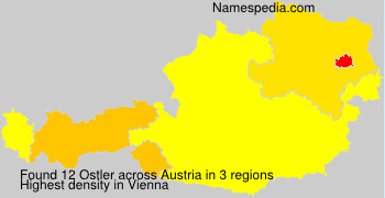 Surname Ostler in Austria
