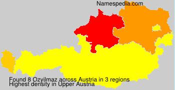 Familiennamen Ozyilmaz - Austria