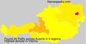 Familiennamen Palffy - Austria