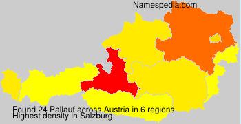 Surname Pallauf in Austria