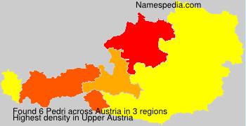 Surname Pedri in Austria